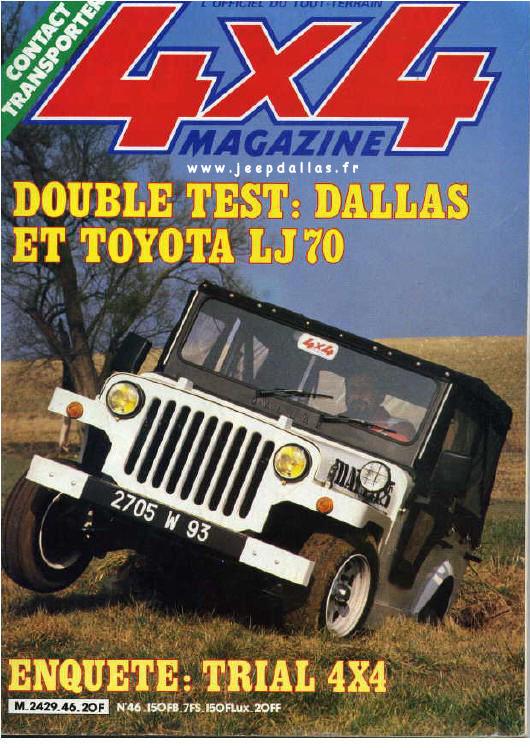 Jeep Grandin Dallas En D 233 Tails